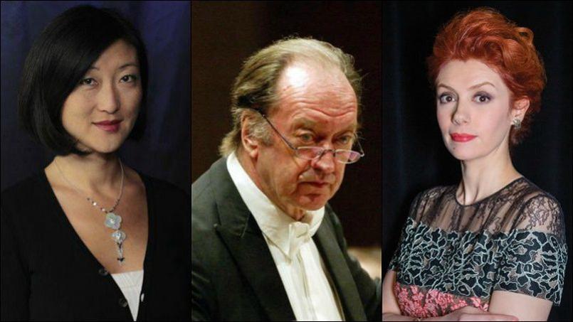 L'ancienne ministre de la Culture, Fleur Pellerin et la cantatrice Patricia Petibon ont salué la mémoire de ce musicien de talent, surnommé à juste titre le «pape» du renouveau baroque.