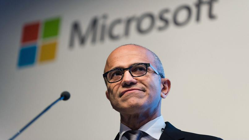 Satya Nadella, PDG de Microsoft