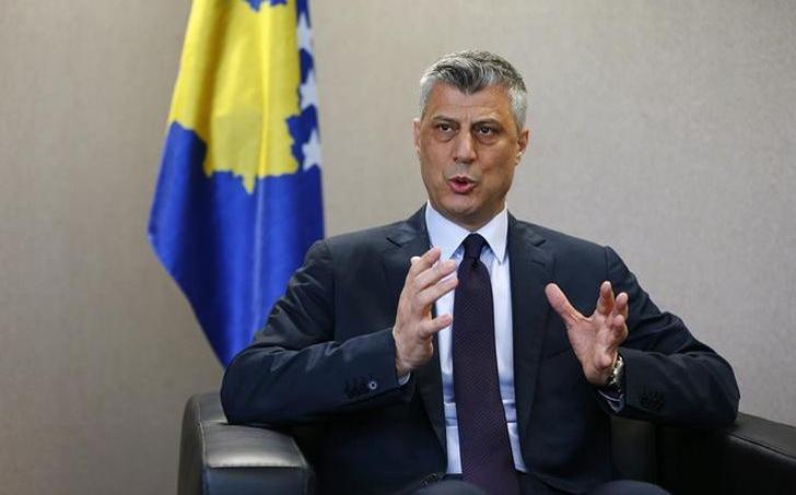 Hashim Thaçi, président du Kosovo et ancien commandant de l'Armée de libération du Kosovo (UCK).