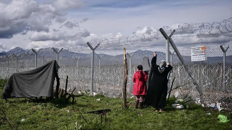 La Macédoine a fermé sa frontière avec la Grèce.