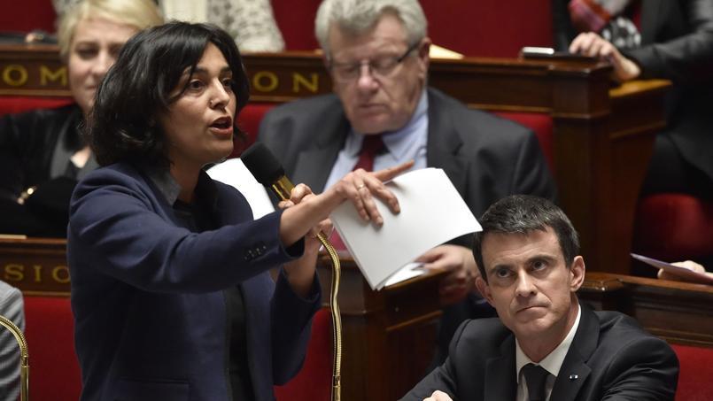 La ministre du Travail, Myriam El Khomri.