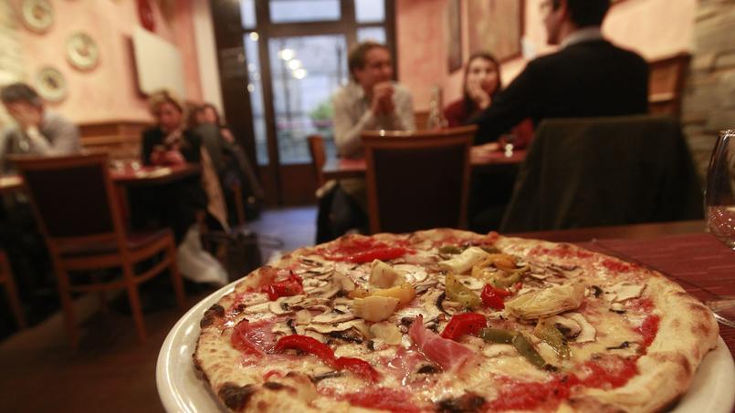 La pizza a toujours autant de succès auprès des Français/ Crédits photo: Sébastien SORIANO / Le Figaro