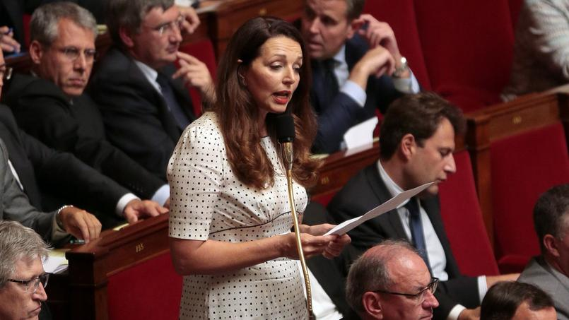 Valérie Boyer à l'Assemblée nationale, en octobre 2015. Crédits photo: Jacques Demarthon/AFP