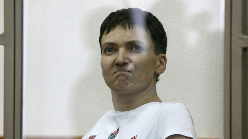 Nadia Savtchenko, ce mercredi.