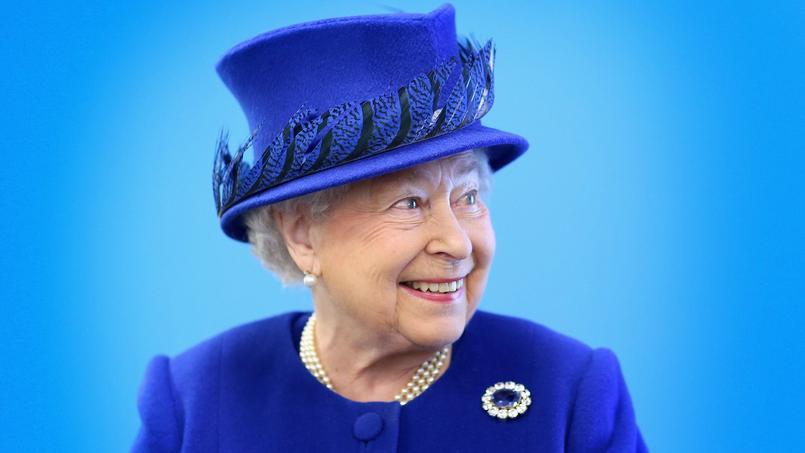 La reine Elizabeth II, mardi 8 mars.