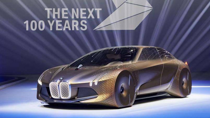 Le concept BMW Vision Next 100 ans affiche les dimensions d'une Série 5 mais l'habitabilité d'une Série 7.