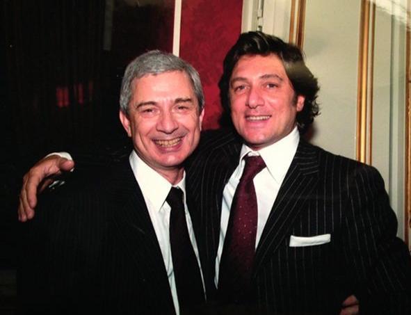 Claude et Renato Bartolone.