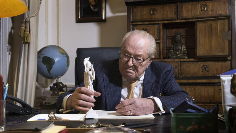 Jean-Marie Le Pen à Saint-Cloud.