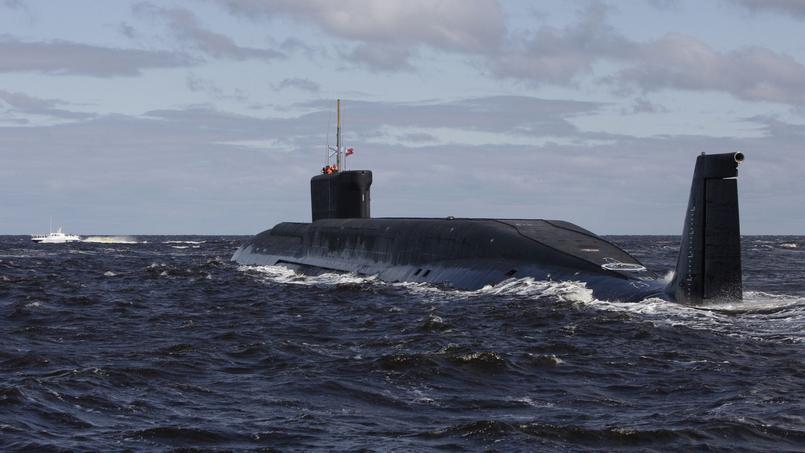 PHOTO D'ILLUSTRATION - Le sous-marin nucléaire russe K-535, Iouri Dolgorouki.