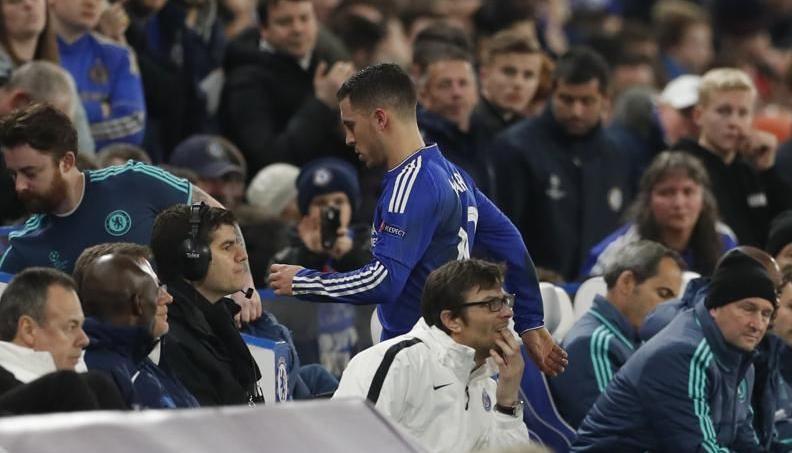 Chelsea-PSG: l'échange de maillot d'Hazard qui fait jaser en Angleterre