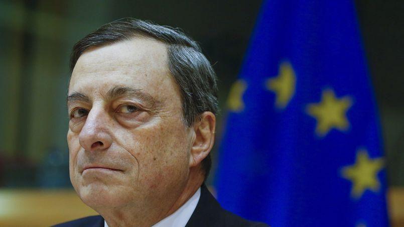 Mario Draghi, président de la BCE Crédit Photo: Yves Herman/REUTERS