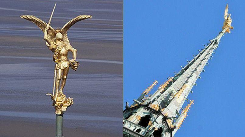 L'archange devrait «s'envoler» du sommet de l'abbaye ce mardi 15 mars.