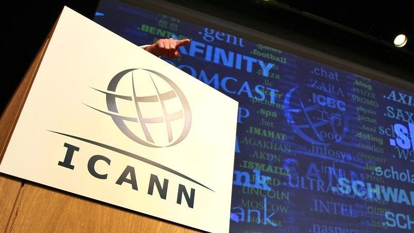 L'Icann, l'organisme en charge de la gestion des noms de domaine sur Internet.