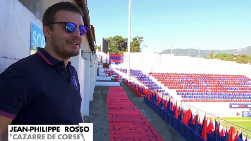 Jean-Philippe Rosso, dans un reportage de Canal+ (Crédit: Canal+)