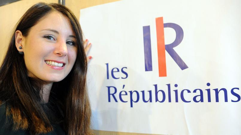 Marine Brenier, présidente des Jeunes républicains.