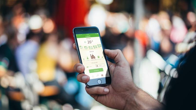 «La Quête» propose de faire ses dons à l'Église à l'aide de son smartphone. Crédits photo: LA QUÊTE