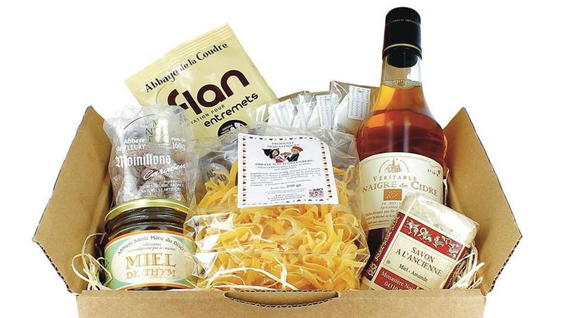 La box de Séraphin se compose de plusieurs produits. Crédits photo: LA BOX DE SERAPHIN