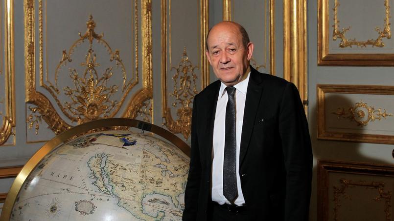 Le ministre de la Défense Jean-Yves Le Drian.