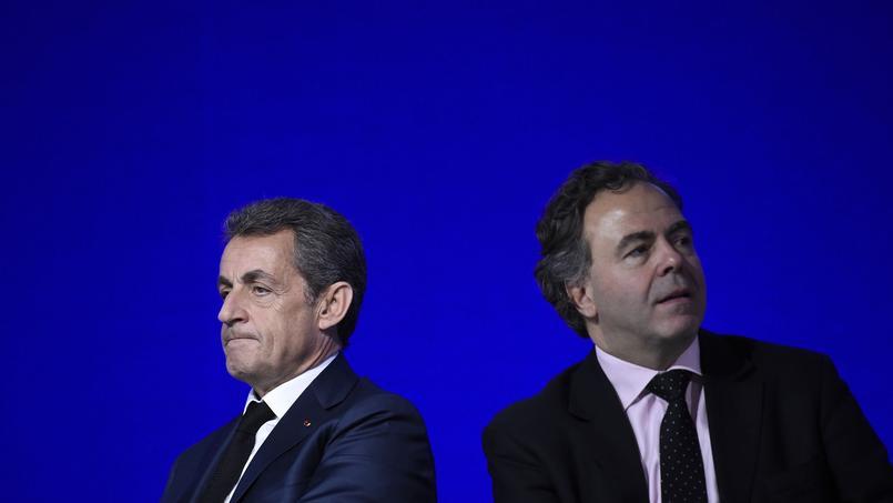 Nicolas Sarkozy et Luc Chatel.