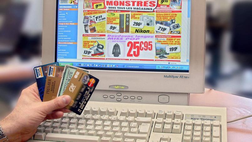 Deux tiers des montants fraudés via des cartes bancaires sont issus du web.