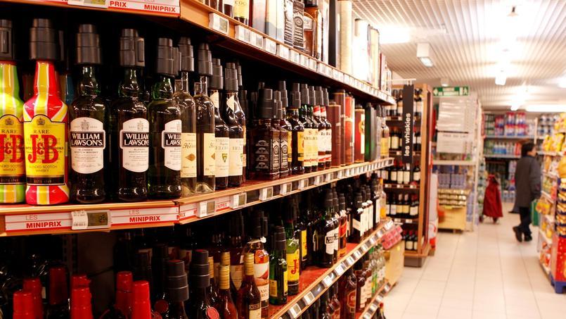 Près de 80% des spiritueux consommés en France sont achetés en grande surface.