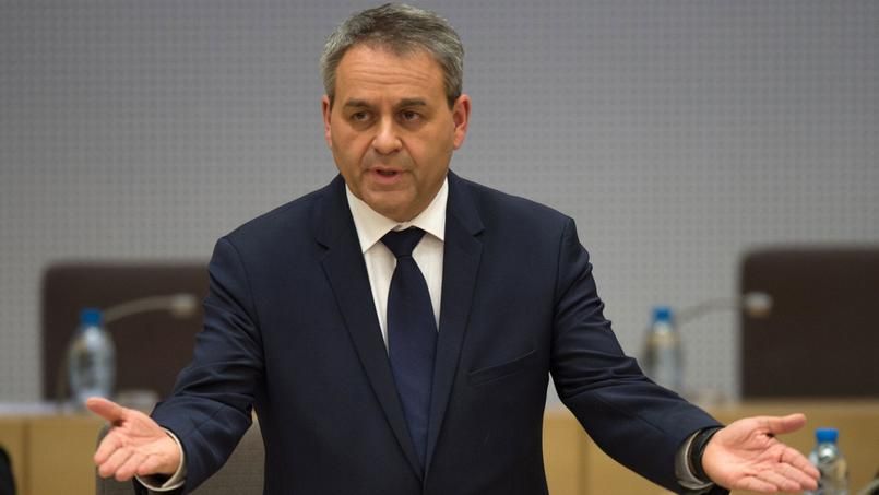 Xavier Bertrand, président (LR) de la région «Hauts-de-France», dont il a soutenu le nouveau nom.