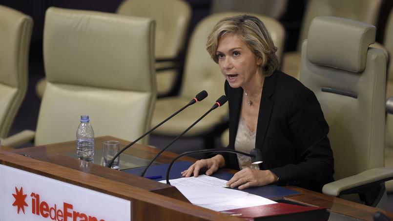 La présidente de la région Île-de-France, Valérie Pécresse