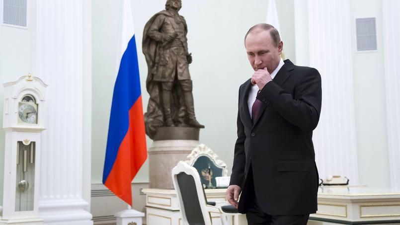 Vladimir Poutine, le 10 mars 2016 à Moscou.