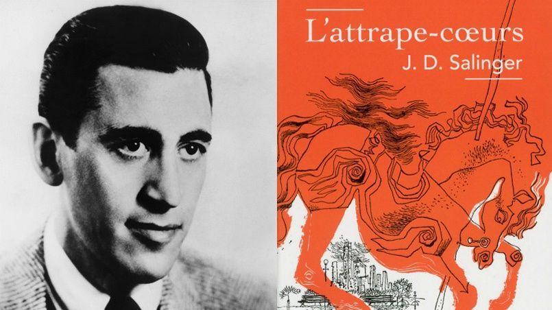 La version actuelle de «L'Attrape-coeurs» publiée par «Pavillons Poche» reprend la couverture originale du roman de Salinger édité en 1951 aux États-Unis.