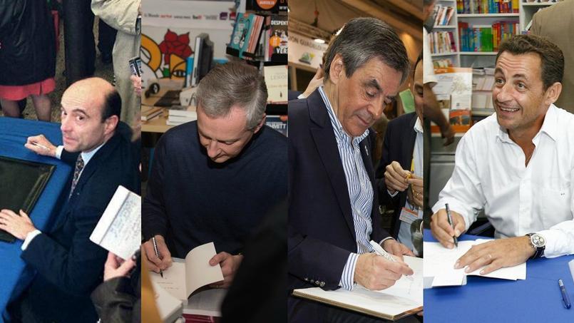 Alain Juppé, Bruno Le Maire, François Fillon... Ils sont tous au Salon du Livre pour dédicacer leur livre... à l'exception de Nicolas Sarkozy.