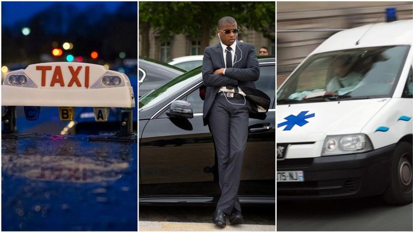Taxis, VTC, ambulances: Yuso cible tous les acteurs du secteur des transports (Crédit: AFP)