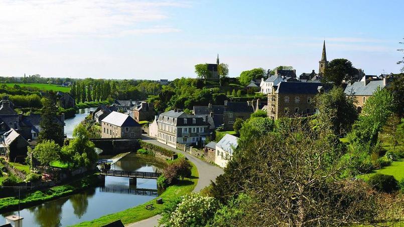 Capture d'écran du site de la municipalité de La Roche-Derrien.