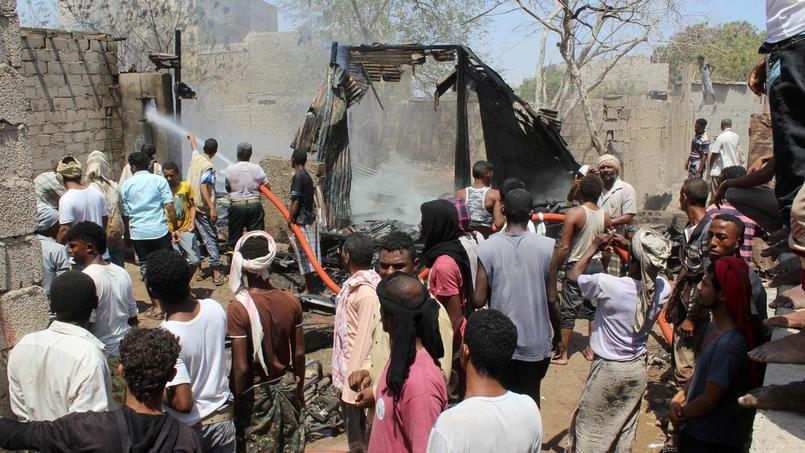 La région de Mastaba, dans l'ouest du pays, a subi cette semaine des raids aériens sanglants. Le dernier bilan de l'Unicef fait état de 166 victimes.