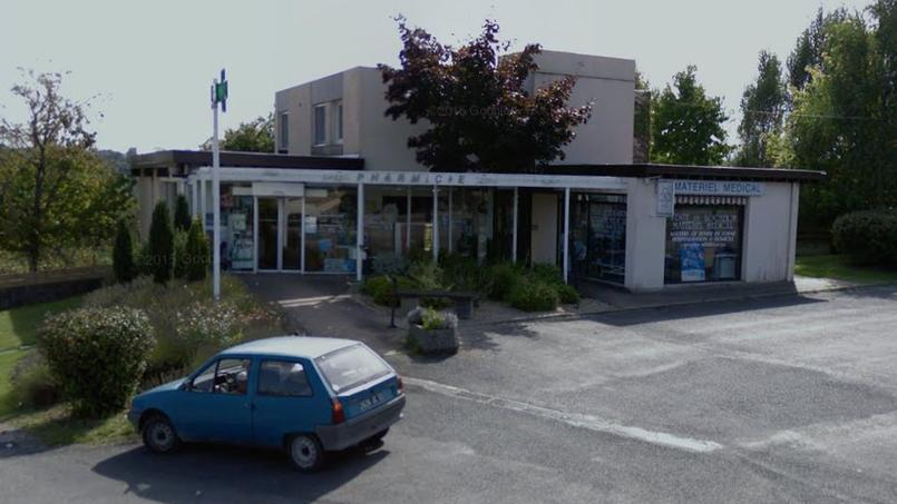 La Pharmacie Pichon, à Salleboeuf. Capture d'écran Google Map.