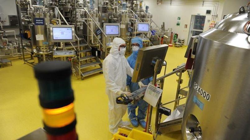 L'usine de fabrication du vaccin contre la dengue à Neuville sur Saône. Crédit-photo: Sanofi