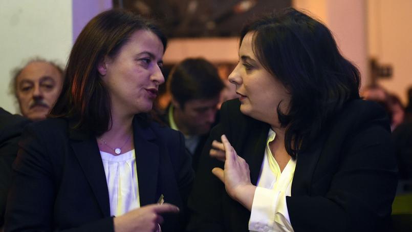 Cécile Duflot et Emmanuelle Cosse