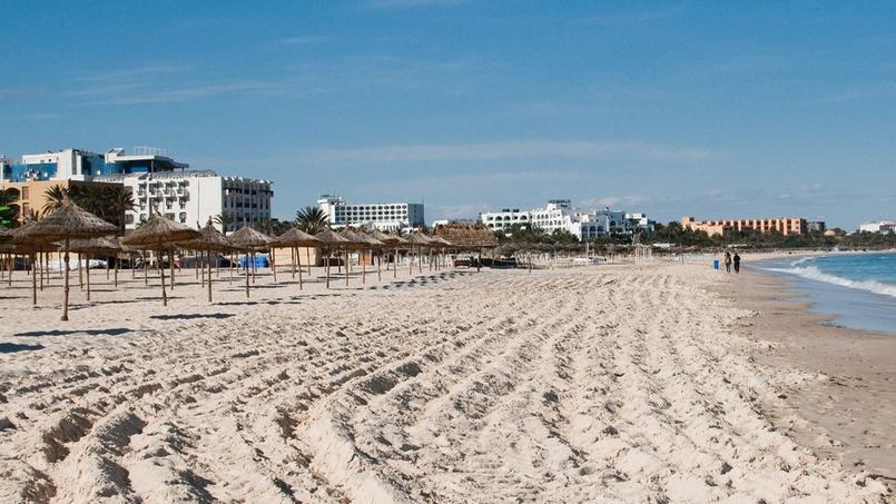 Comme ici à Sousse, les stations balnéaires tunisiennes n'ont plus l'animation d 'autrefois.