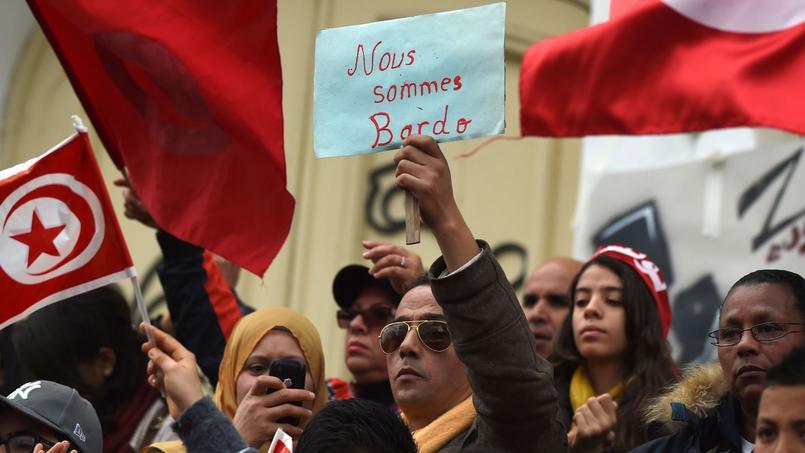 Manifestation à Tunis, le 20 mars 2015.