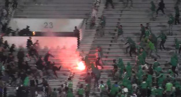 Deux groupes de supporters du Raja Casablanca se sont affrontés ce samedi.
