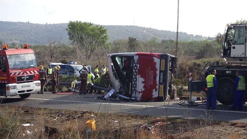 L'accident au eu lieu au petit matin.