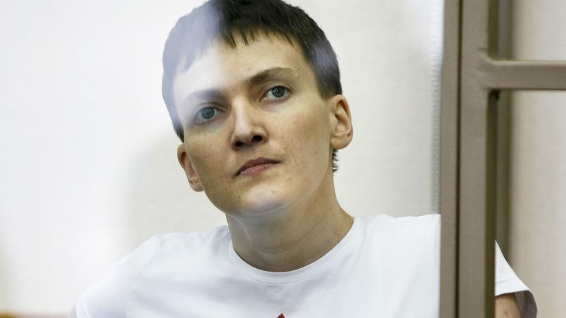 Nadia Savtchenko, le 9 mars dernier.