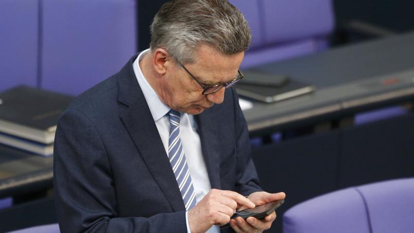 La menace en Allemagne reste «élevée», répète depuis des mois le ministre de l'intérieur, Thomas de Maizière (photo).