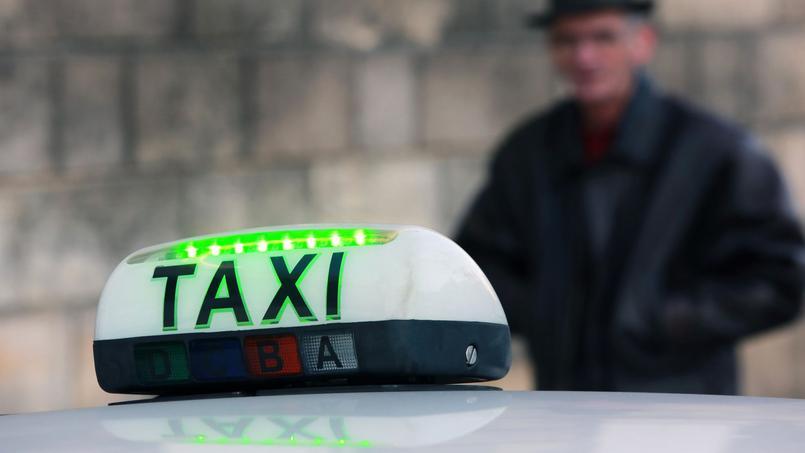 La plateforme le.taxi a été lancée ce mardi. Crédits photo: NICOLAS TUCAT / AFP