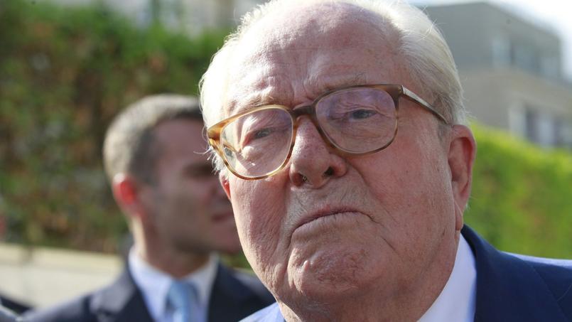 Jean-Marie Le Pen en août 2015.