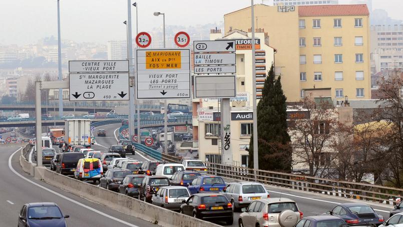 Marseille, ville la plus embouteillée de France en 2015
