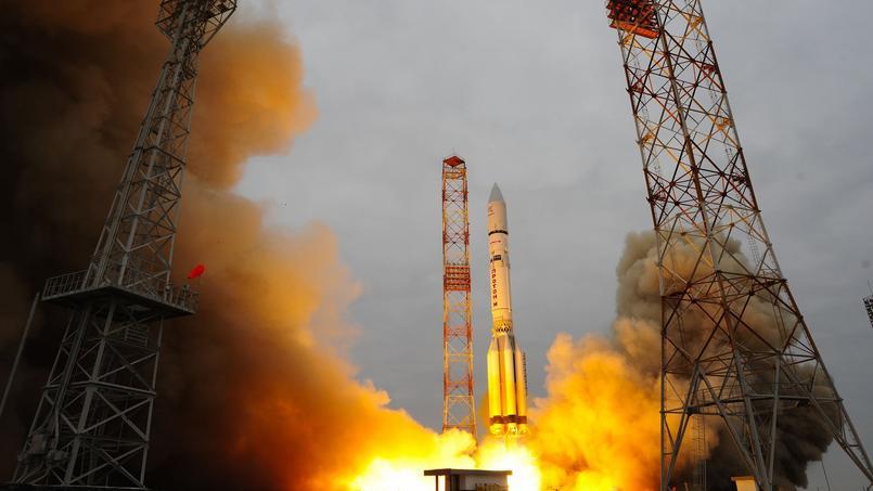 Le dernier étage de la fusée russe Proton a envoyé les deux passagers de la mission ExoMars, le satellite TGO et l'atterrisseur Schiaparelli, en route vers la planète rouge.