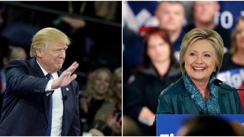 Donald Trump et Hillary Clinton poursuivent leur course en tête dans leurs camps respectifs.