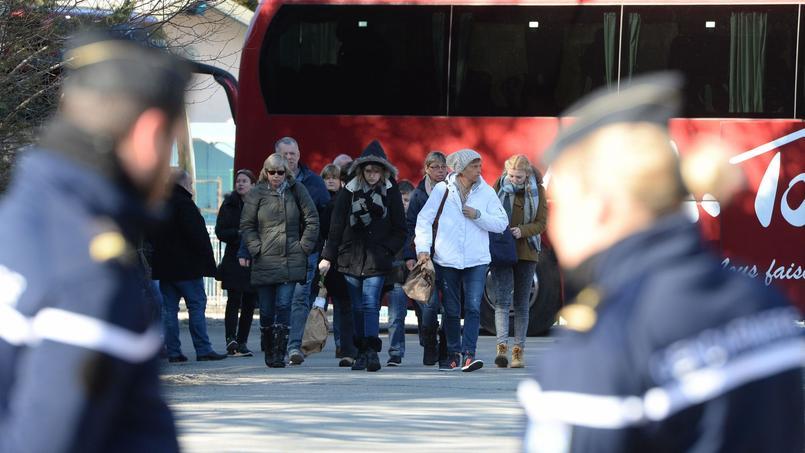 605 membres de famille des victimes ont assisté aux commémorations.