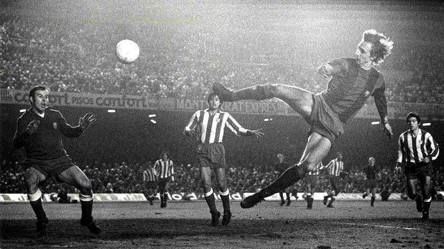 Johan Cruyff a marqué l'histoire du football.