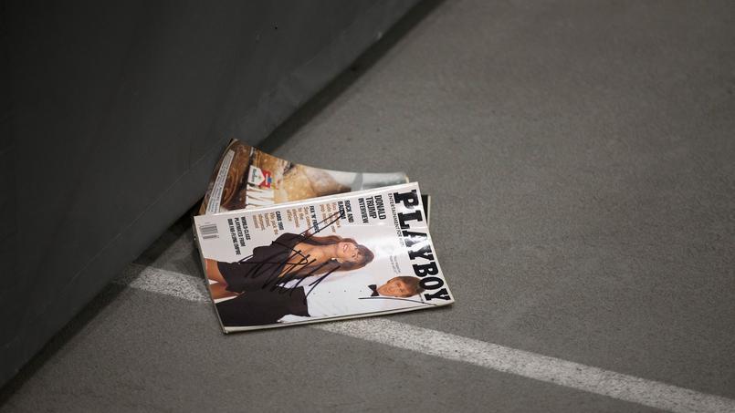Un exemplaire de Playboy... avec Donald Trump à la une!